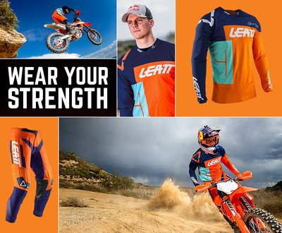Leatt have unveiled their all-new 2020 off road gear collection. image