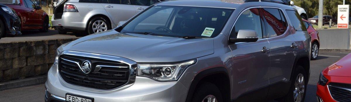 Acadia AWD LT V6 Wagon – Silver – DEMO Large Image