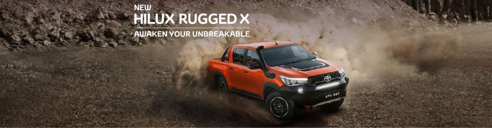 HiLux Rugged X
