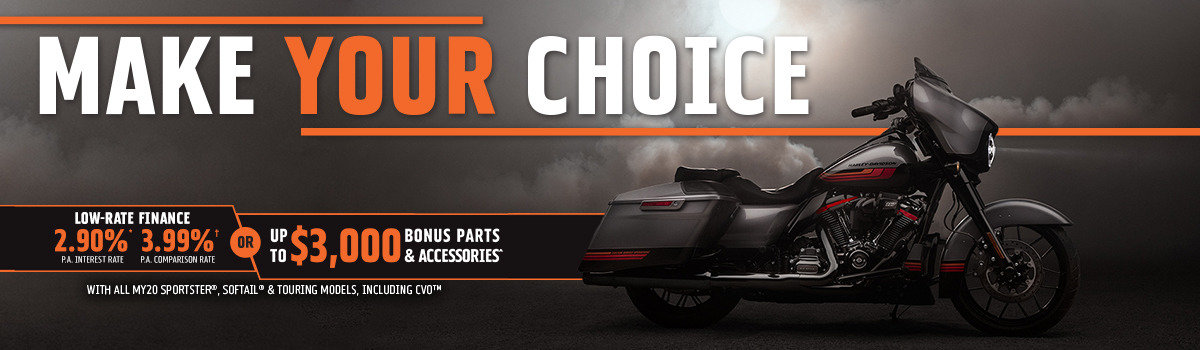 2.90%* Interest | 3.99%** Comparison Rate OR Up To $3,000 Of Parts & Accessories Large Image