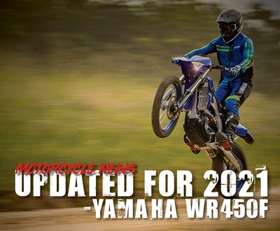 Updated For 2021 - Yamaha WR450F  image
