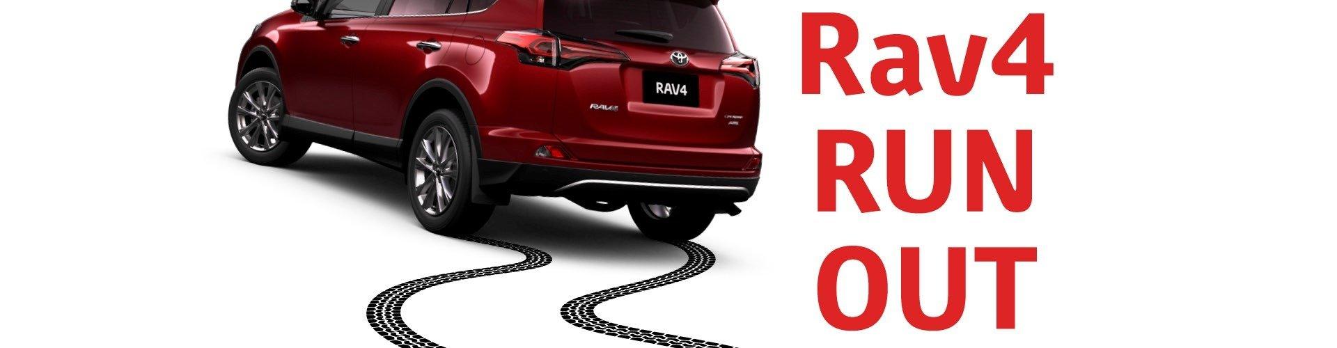 Waverley Toyota's Rav4 RUN OUT