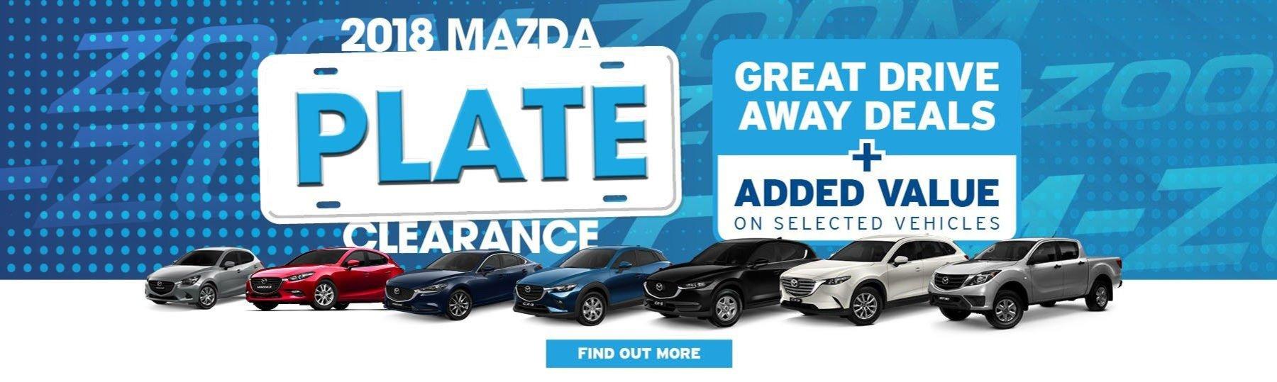 Rockdale Mazda Plate Clearance