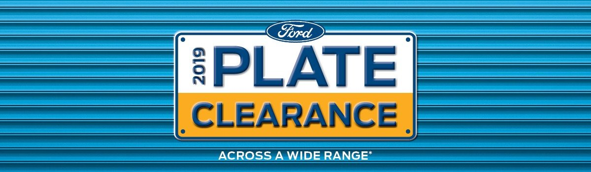 Ford 2019 Plate Clearance Large Image