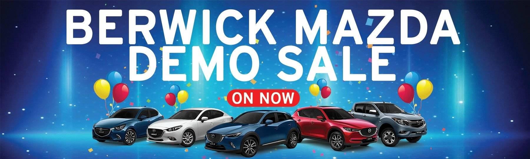Berwick Mazda Demo Sale