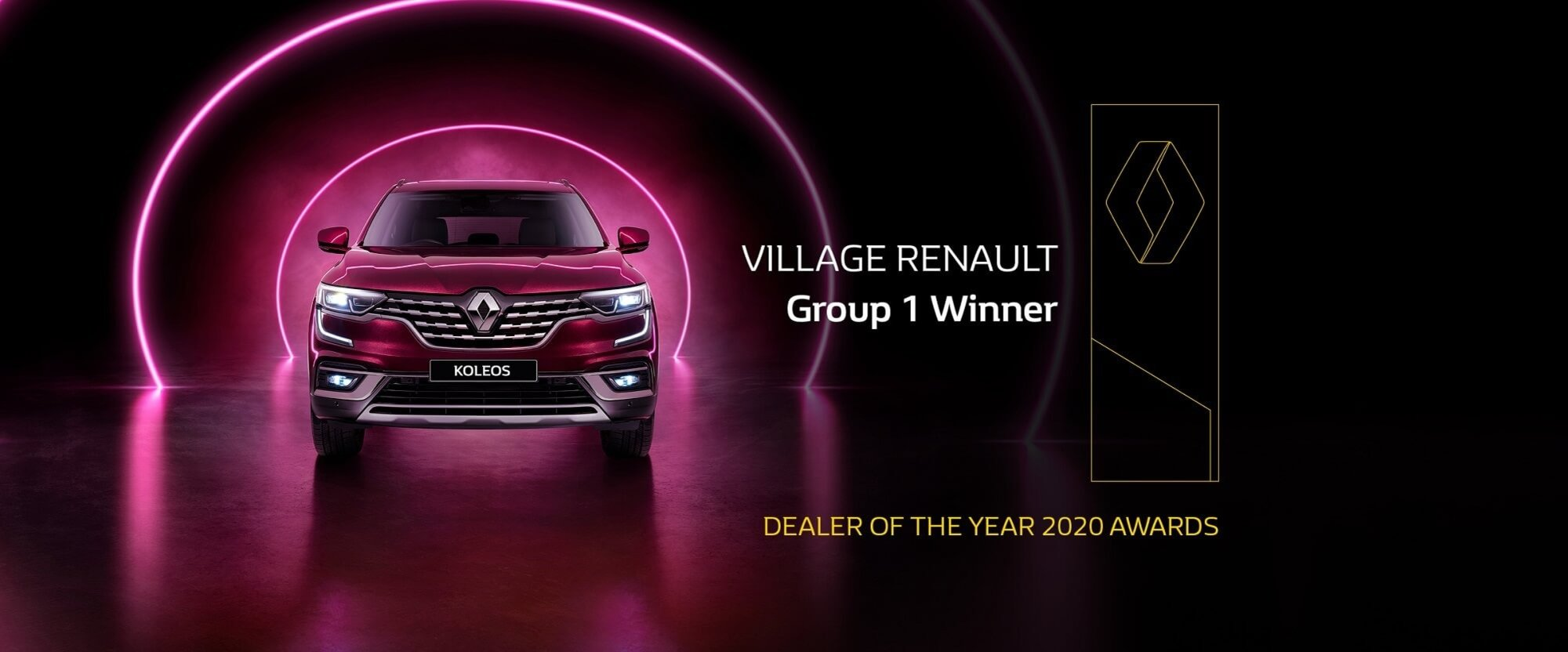 Village Renault Dealer of the Year 2020