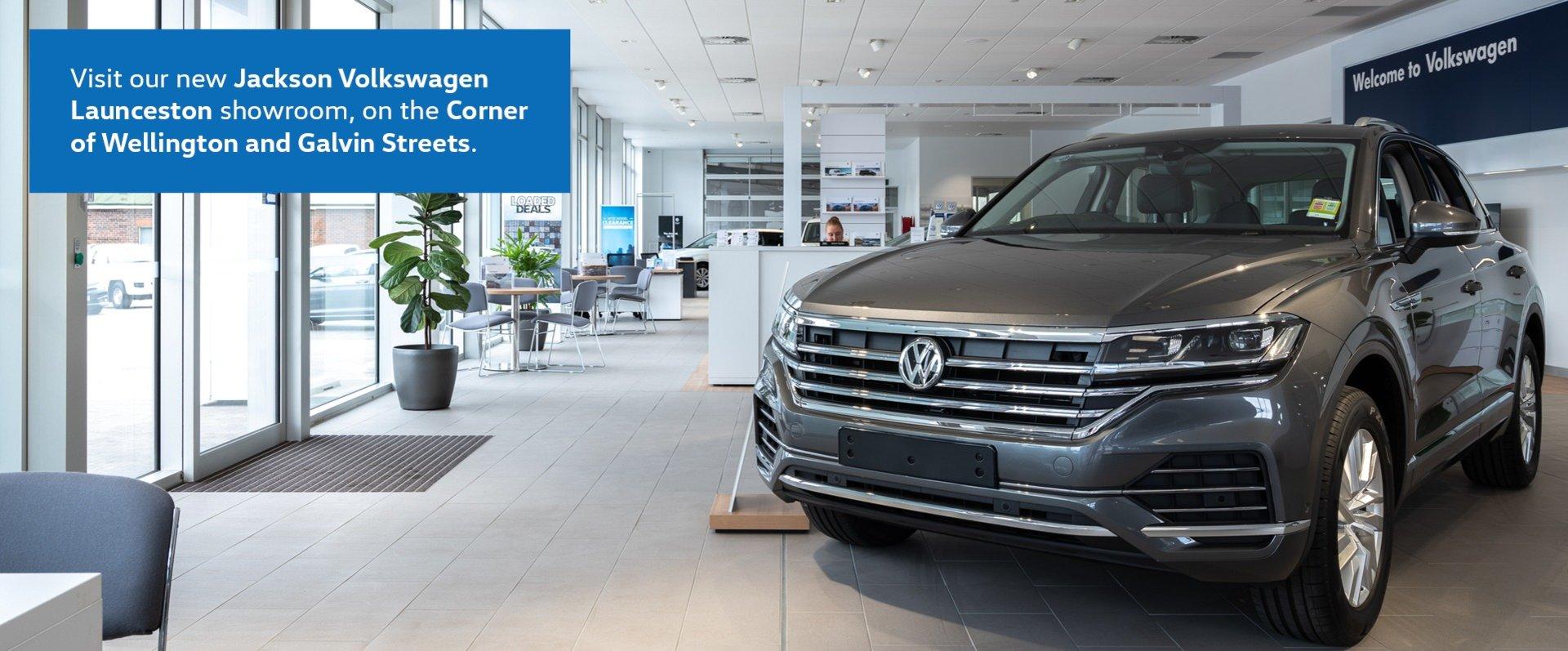 Jackson Volkswagen Launceston's new showroom and dedicated Service Centre is open