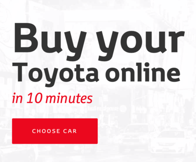 Buy a Toyota online image