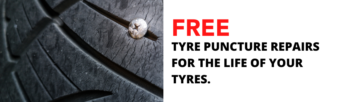 FREE Tyre Puncture Repairs for the LIFE of your New Tyres Large Image