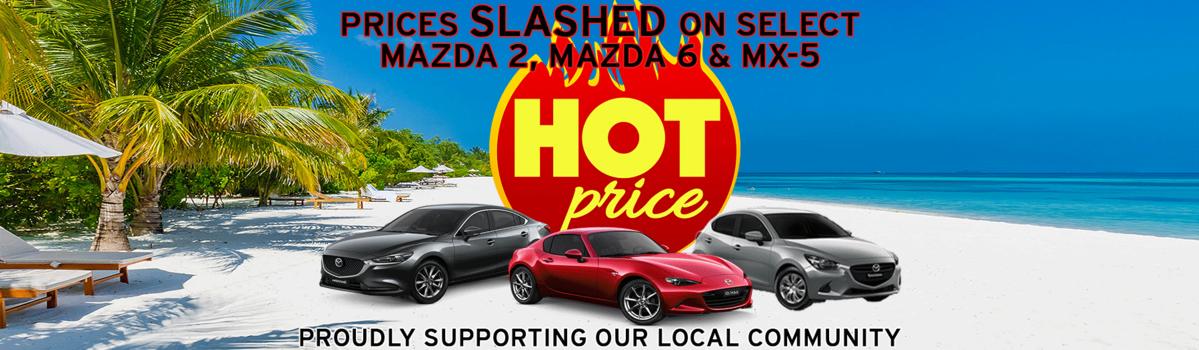 FLASH SALE! Selected MX-5, Mazda 2 & mazda 6 Prices SLASHED  Large Image