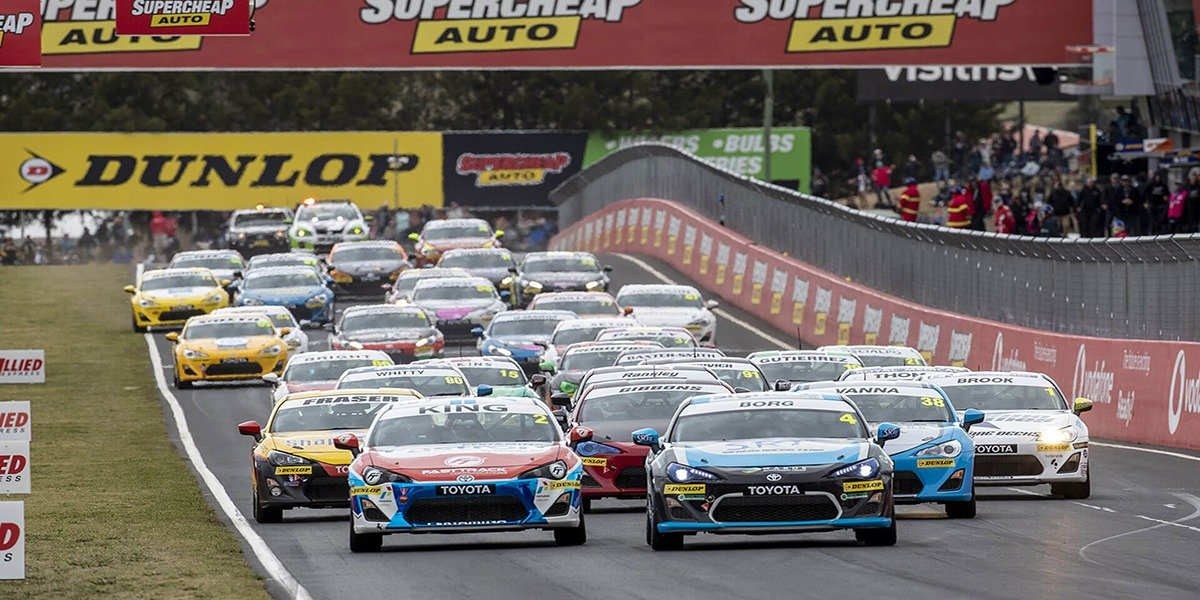 blog large image - Borg Takes Two Wins in Toyota 86 Racing Series at Drama-Filled Bathurst