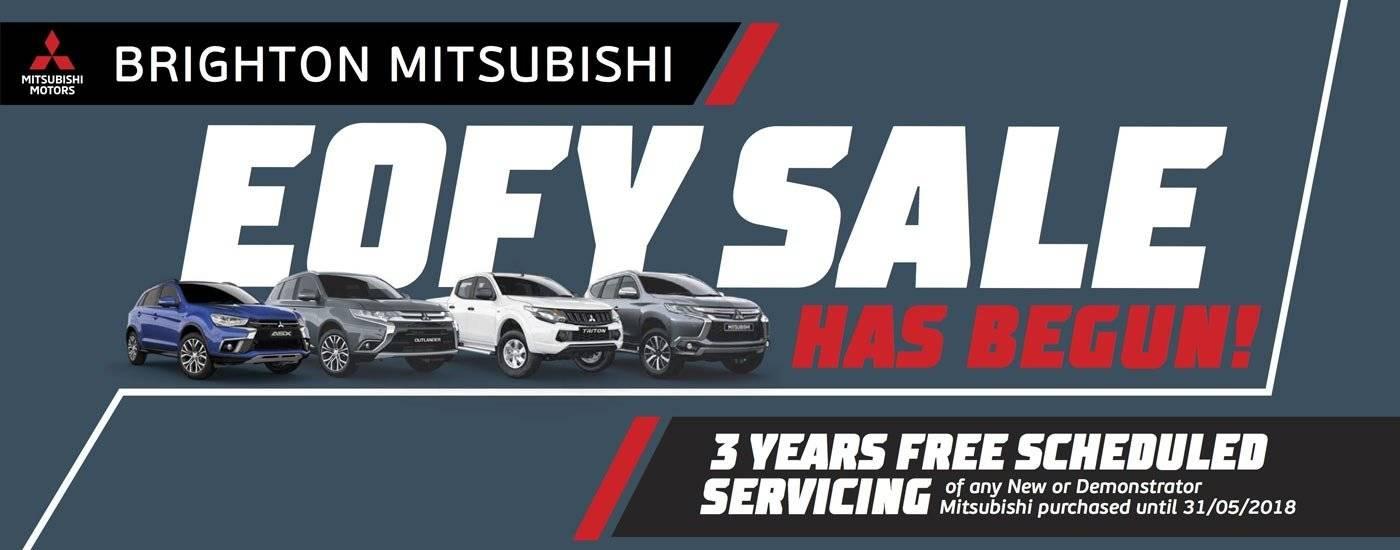 Brighton Mitsubishi EOFYS