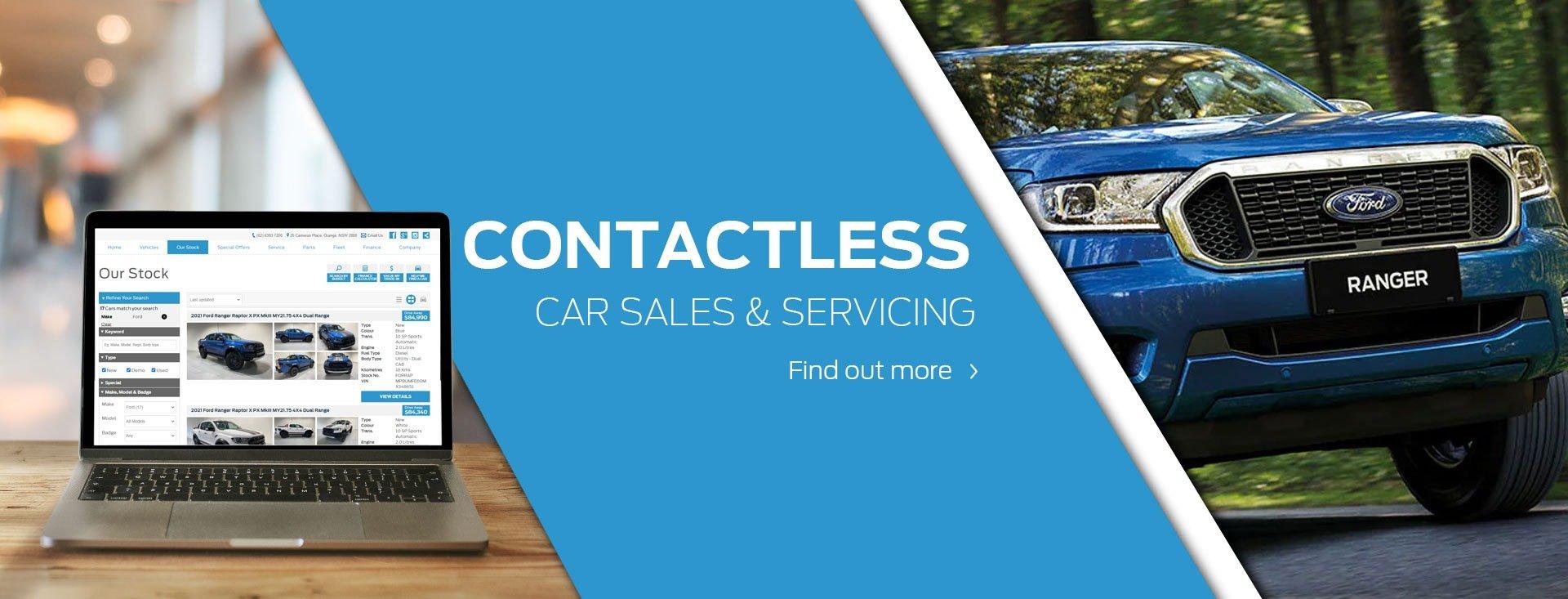 Contactless Car Sales