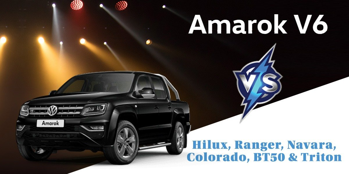 blog large image - <strong>Looking for a Dual Cab Ute and considering a Hilux, Ranger, Triton, Colorado, BT50 or Navara? Consider a VW Amarok instead!</strong>