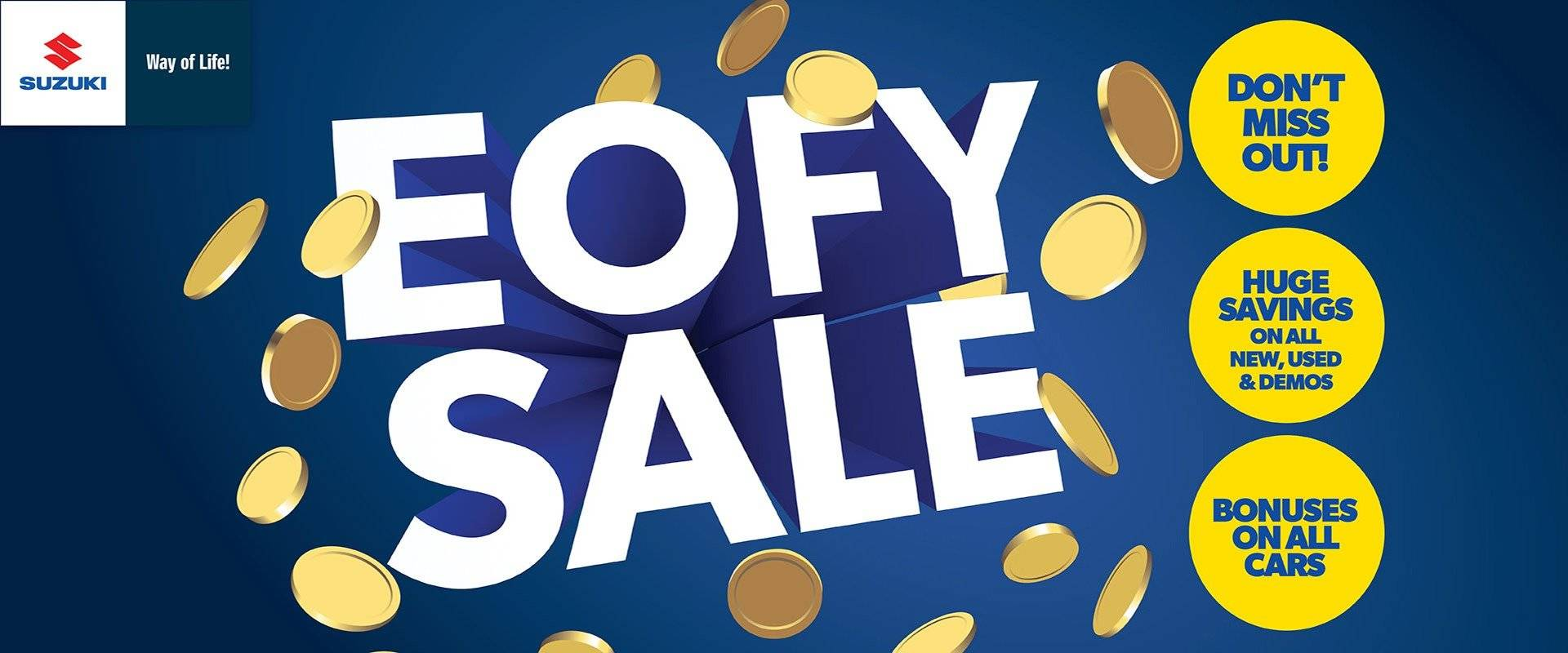Callaghan Suzuki | EOFY Sale