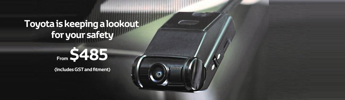 Introducing the Toyota Genuine Dash Camera Large Image