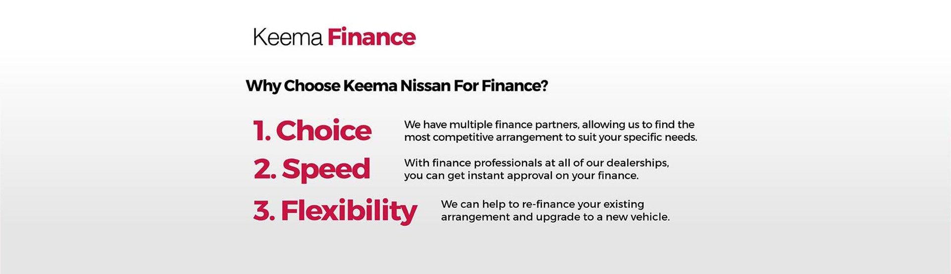 Keema Nissan - Finance