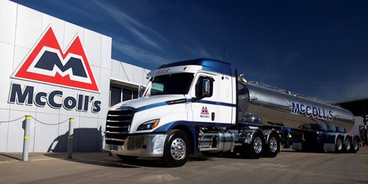 blog large image - McColl's Puts New Cascadia to Work in Dairy Fleet
