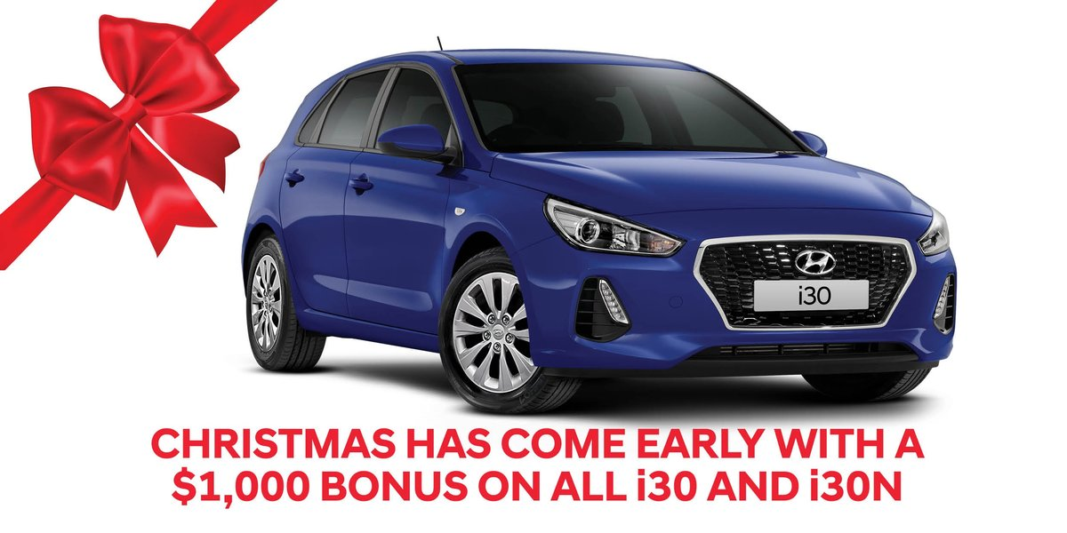 blog large image - Save $1,000 across the entire i30 range this Christmas