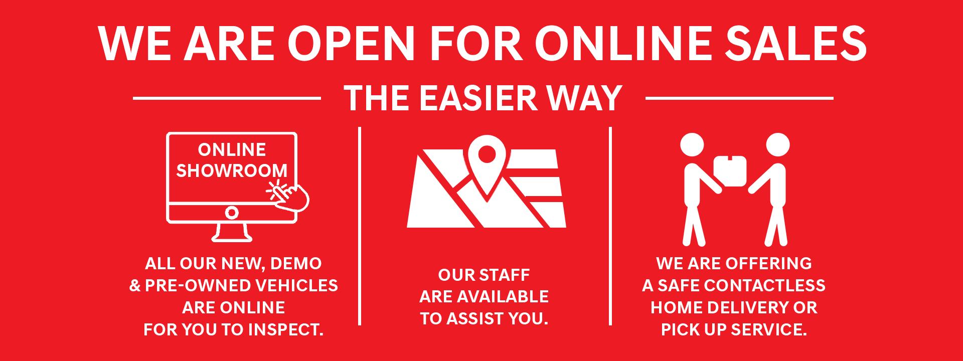 Cranbourne Hyundai - We are open online