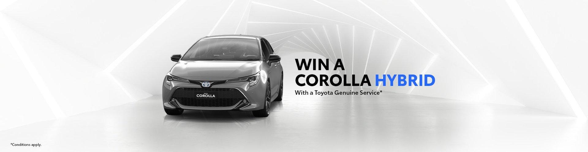 Win a Corolla Hybrid