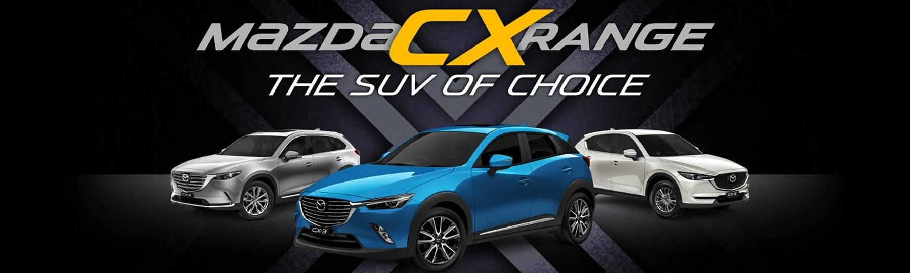 Mazda CX Range