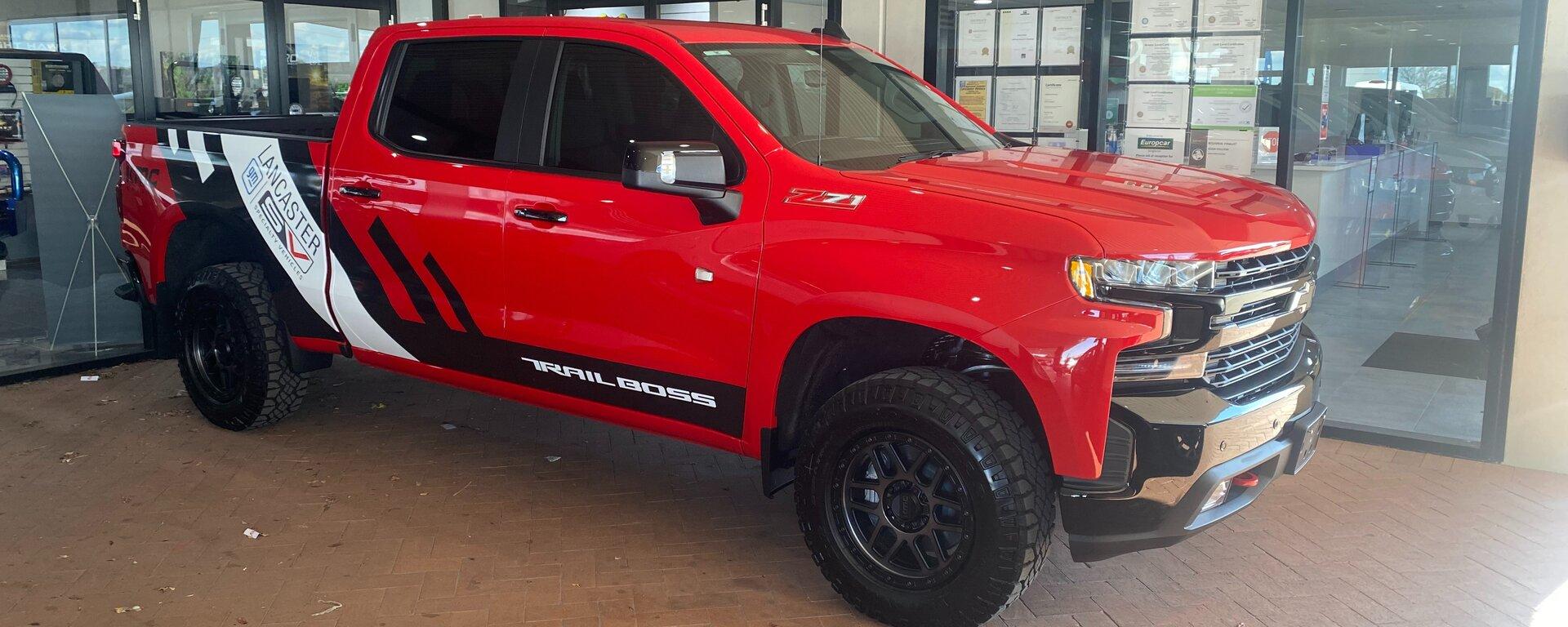 Will Brown's new Silverado 1500 LT TrailBoss