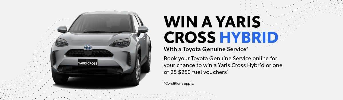 Win a Yaris Cross Hybrid Large Image