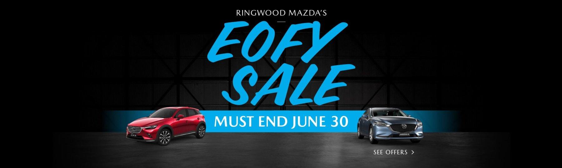 Ringwood Mazda - EOFY Sale
