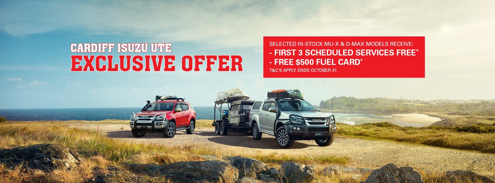 Cardiff Isuzu Ute Exclusive Offer