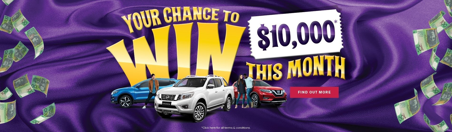 Rockdale Nissan - Your Chance To Win!
