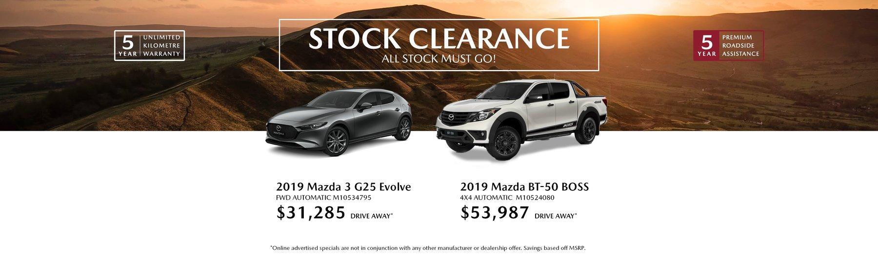 stock specials