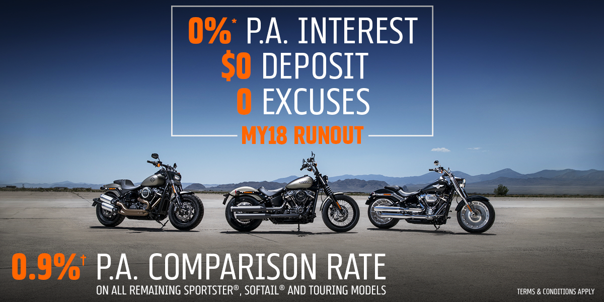 blog large image - Zero Excuses: There's Never Been A Better Time To Buy A Harley®