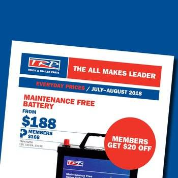 TRP Parts Catalogue July - August 2018 Small Image