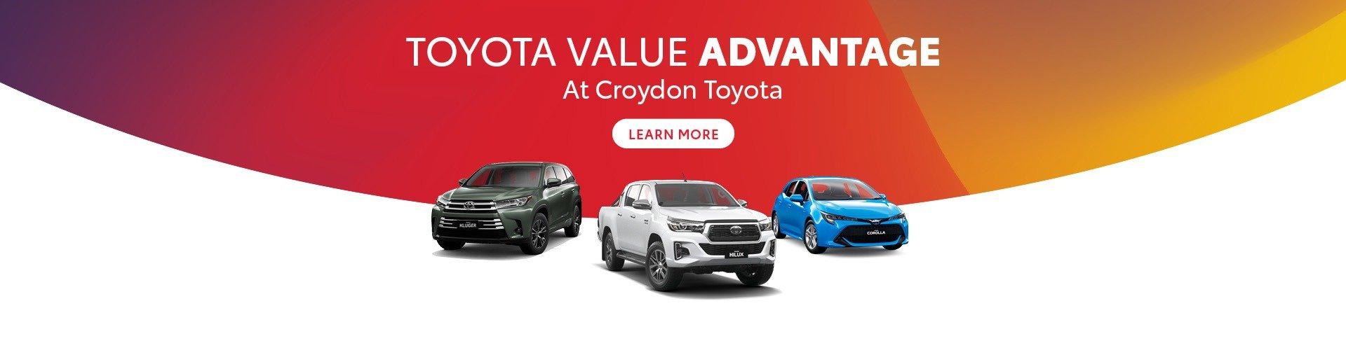 Croydon Toyota - Total Value Advantage