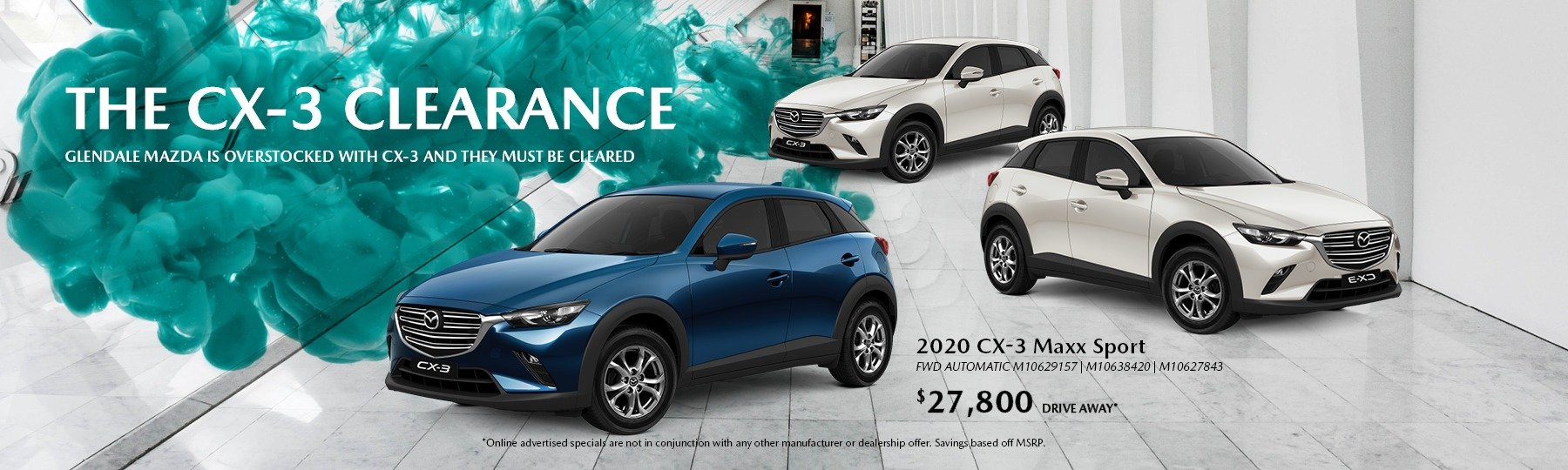 The CX-3 Clearance