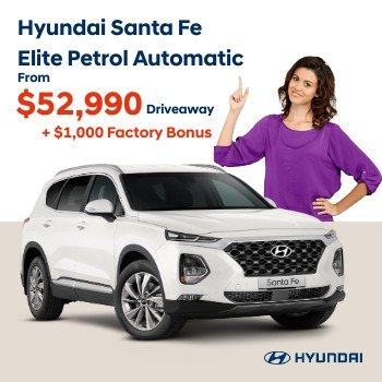 NEW SANTA FE 7S ELITE PETROL AUTOMATIC Small Image