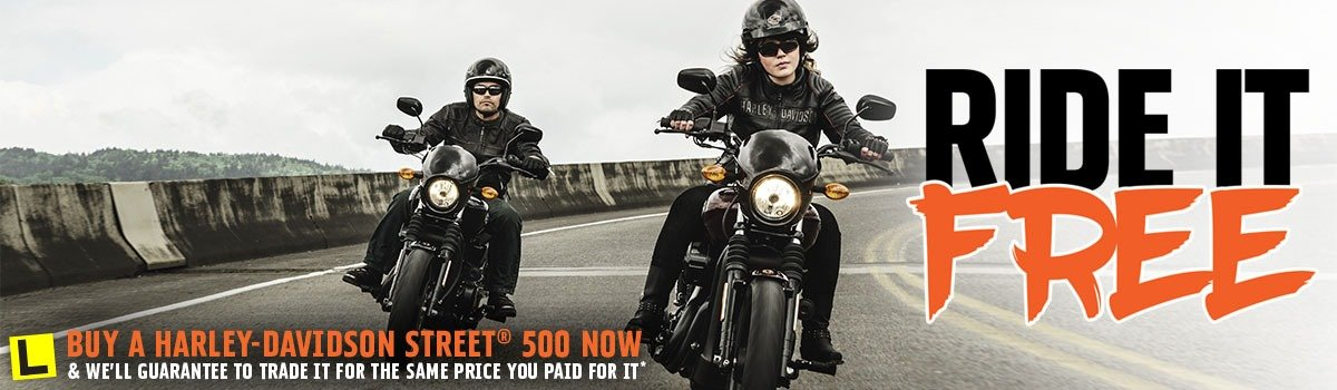 Ride It Free At Gold Coast Harley-Davidson® Large Image