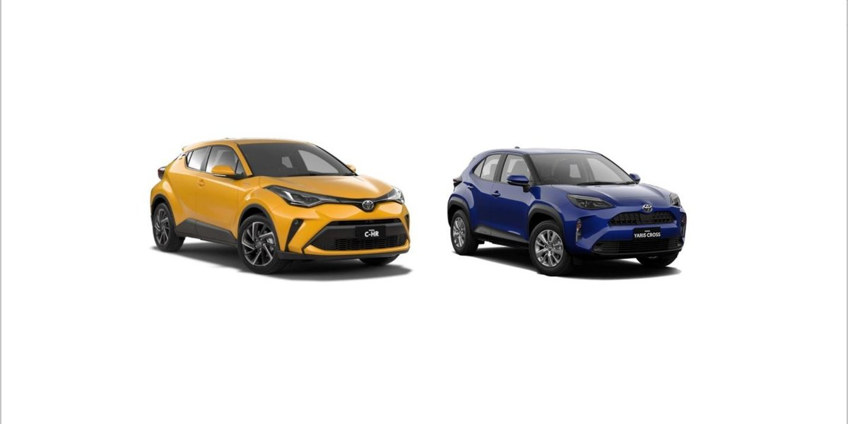 blog large image - Toyota CHR Vs Yaris Cross - Which Is Your New Toyota?