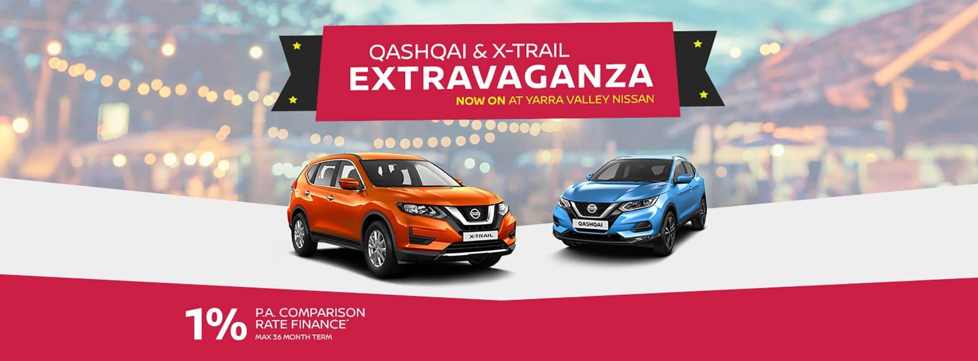 Nissan Qashqai & X-Trail