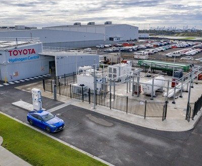Toyota's Altona hydrogen production facility image