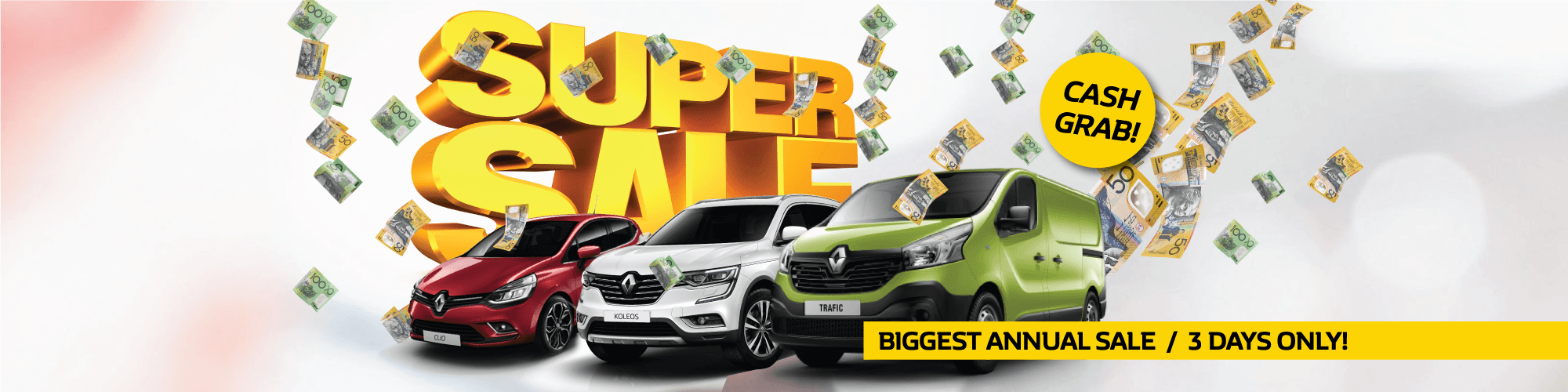 Penrith Renault   3 Day Annual Sale