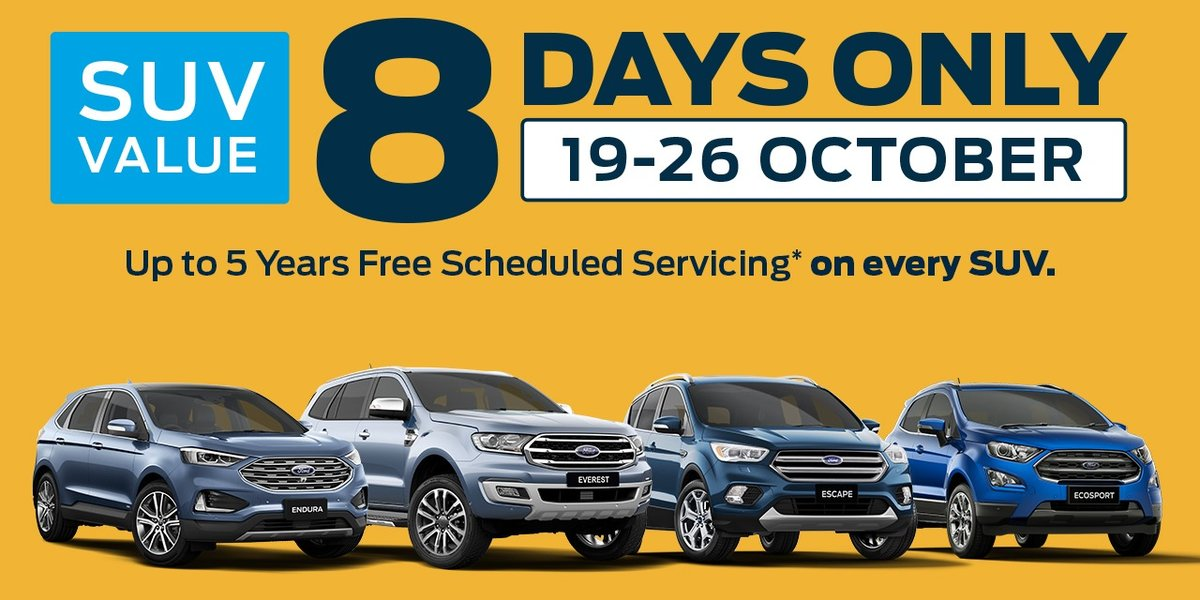 blog large image - The 8 Day SUV Sale at Armstrong Ford 🙌🏻