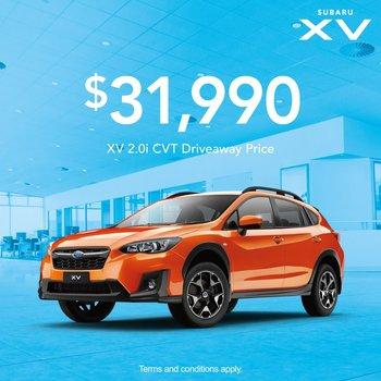 XV 2.0i from $31,990  Small Image