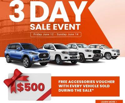 LDV_Parramatta_3_day_sale image