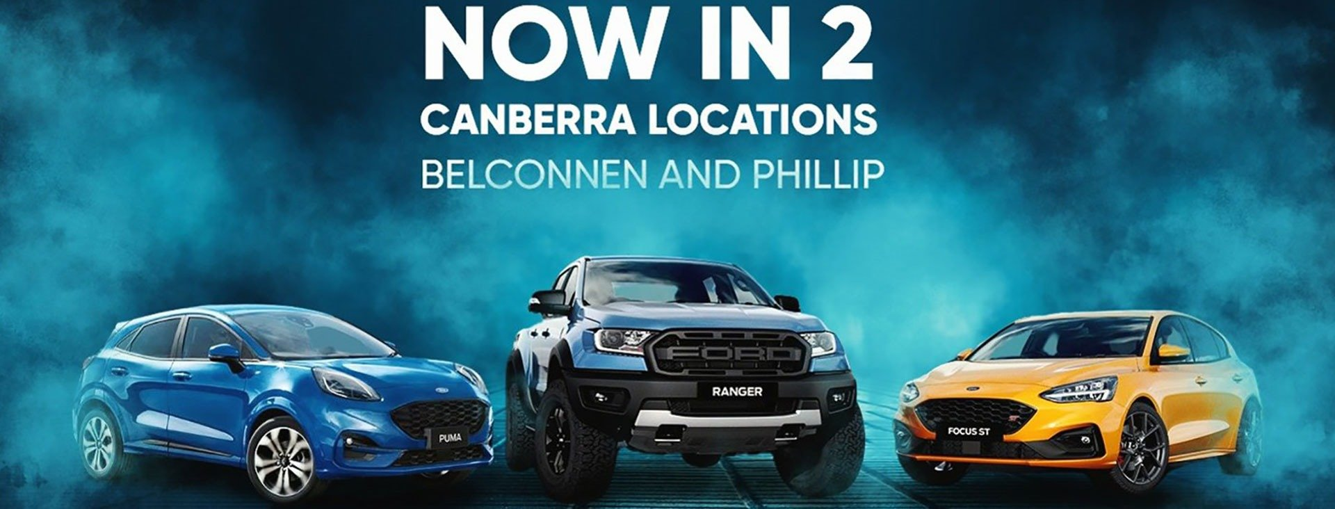Canberras only home of Ford