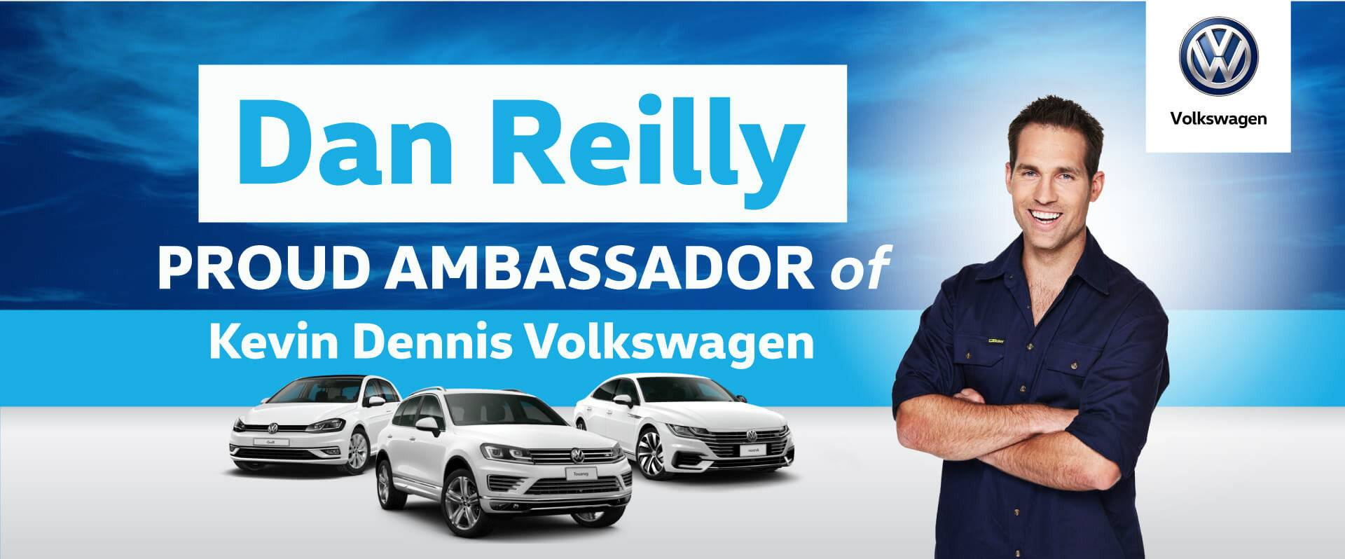 Dan Reilly   Proud Ambassador of Kevin Dennis VW