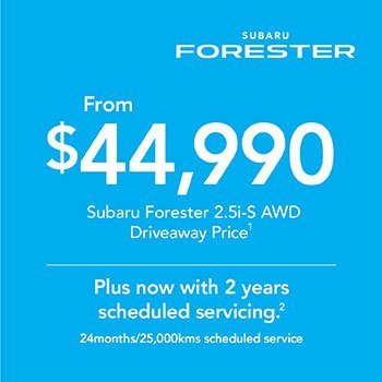2019 Plate Clearance - Forester 2.5i-S AWD Small Image