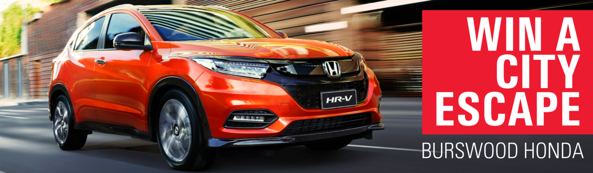 Test drive new HR-V to Win! Large Image