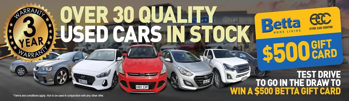 Eyre Car Centre | Quality Used Cars Large Image